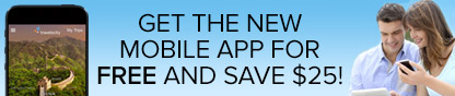 Get the new Mobile App For Free and save $25